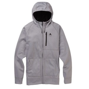 Bluza Burton Crown Bonded FZ Gray /2020