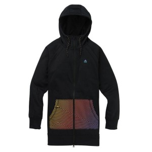 Bluza Burton WMS Crown Long FZ Black /2020
