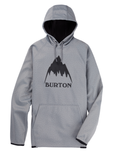 Bluza Burton Crown PO Gray Heather /2021