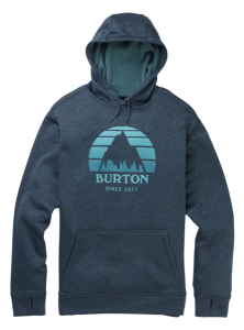 Bluza Burton Oak PO Dress Blue Heather /2021